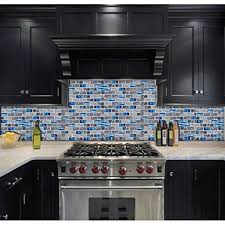 teal blue glass backsplash tiles gray marble 1 x 2 subway tile bathroom shower