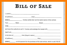 How Do You Make A Bill Of Sale 9 How To Make Bill Of Sale Simple Cash Bill