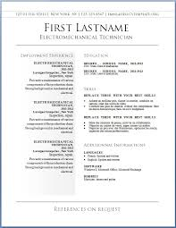 Resume Builder Free Template A Good Resume Example