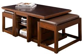 coffee table with two stools coffee