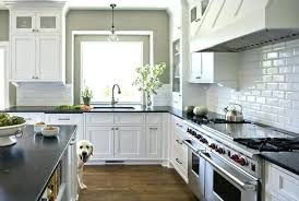 gray beveled subway tile beveled subway tile beveled subway tile kitchen traditional with colors glass cabinets