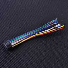 online buy whole wire harness for car stereo from wire car radio stereo iso standard wiring harness cd player plug cable cord fit for kenwood car