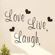 live laugh love wall decal black word and letters wall art stickers vinyl love themed decorative sticker for living room and bedroom decorative decals