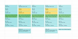 Sample Agenda Calendar Fascinating Every Timeline Template You'll Ever Need The 48 Best Templates