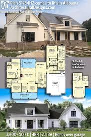 best of plan hz modern farmhouse plan with bonus room 2300 square foot craftsman house plans