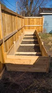 how to build cedar raised beds from