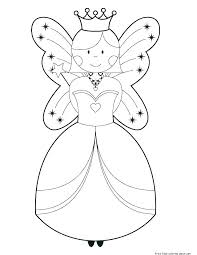 Coloring Pages Barbie Free Printable Barbie Fairy Coloring Pages