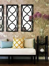 decorative wall mirror npnurseries home design the beauty of mirror wall décor for your modern house setup