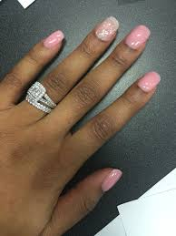 sns on my natural nails and a ring set to for