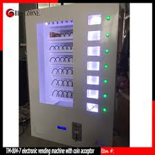 Wall Mounted Vending Machine Amazing Small Spiral Vending Machine With Coin AcceptorWall Mounted For
