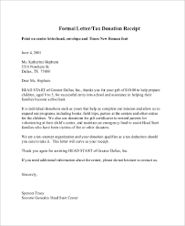Sample Donation Letters Donation Letter Sample 9 Examples In Pdf Word