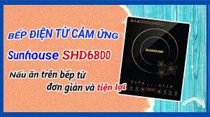 Bếp từ cảm ứng SUNHOUSE SHD6800 tặng Kèm nồi lẩu