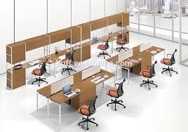 office workstation design. mfcpt10 modern design office workstation for 2 persons metal frame mdf