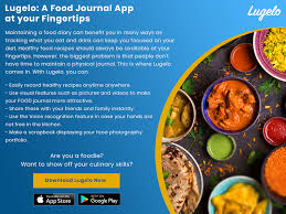 Food Journal Online Lugelo An Online Food Journal App Lugelo Story Book Medium