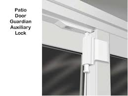 unavailable auxiliary lock sliding glass door door guardian silverline auxiliary foot bolt