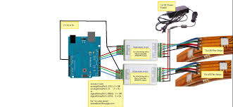 rgb amplifier 4a ch for interfacing a micro controller ttl follow the instructions in this picture