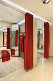 room curtains catalog luxury designs: luxury design boutique moliera with fitting room