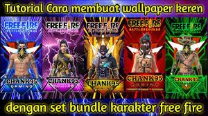 membuat wallpaper free fire keren _ ...