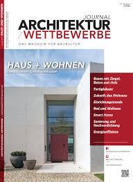 Architekturjournal Wettbewerbe Special Haus Wohnen 2019
