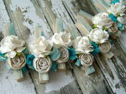 Decorated clothespins custom shabby chic Clothes Pins by ilovethis, $22.50