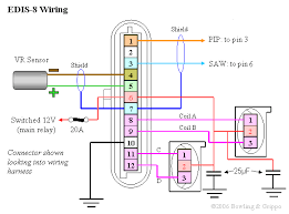 triumph tr7 > electrical > megajolt edis8 wiring diagram edis8 connector