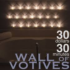 wall of votives