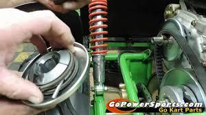 Installing A Drive Belt On A Go Kart With A 30 Series Torque Converter