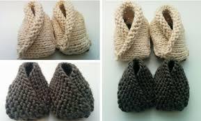 Kết quả hình ảnh cho 7. Easy Knit Baby Booties