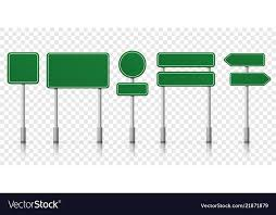 Templates For Signs Free Road Signs Green Template Icons