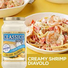 Classico Light Alfredo Classico Light Creamy Alfredo Pasta Sauce 15 Oz Jar