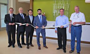 ribbon cutting consigli completes construction of hilton garden inn boston logan airport