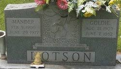 """Lottie Golden """"Goldie"""" Mullins Dotson (1909-1982) - Find A Grave ..."""