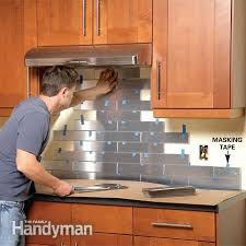 Kitchen Backsplash How To Install Extraordinary 48 Unique And Inexpensive DIY Kitchen Backsplash Ideas You Need To