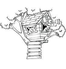 The Best Free Treehouse Coloring Page Images Download From 31 Free