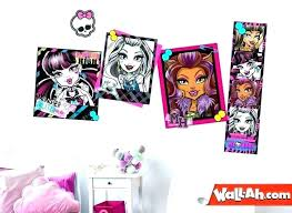 Monster High Bedroom Decor Monster High Bedding Set Monster High ...
