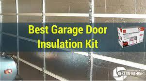 best garage door insulation kit be