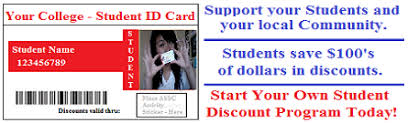 – College Cards Program Student Your « Discount
