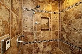 recessed shower shelf cut out