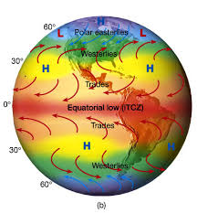 Global Wind Patterns New Global Wind Precipitation Ocean Current Patterns Lucky Sci