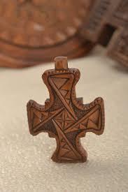 next to skin amulets crucifix necklace handmade jewelry wooden cross pendant designer accessories