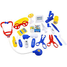 Dergtgh <b>21PCS</b>/<b>Set</b> Plastic Doctor Equiment Tools Toy Children ...