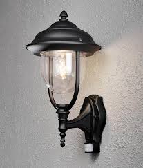 covered wall lantern with pir outdoor