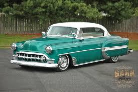 1953 Chevy BelAir 2 Door Hard Top Hotrod Hot Rod Custom Low Old ...