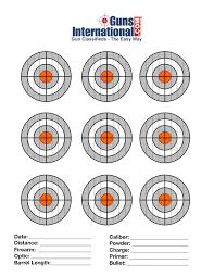 Nerf Distance Chart