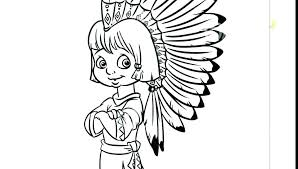 Native American Indian Coloring Pages North Page Free Corn