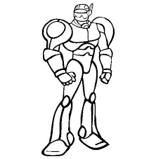 Small Picture Robot Coloring Pages Robot Coloring Pages In Cartoon Coloring