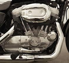 a brief history of the harley davidson evolution engine lowbrow a harley davidson sportster an 833cc evolution engine