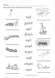 Phonics is a method of teaching kids to learn to read by helping them to match the sounds of letters, and groups of letters, to distinguish words. Free Ai Ay Phonics Worksheets Printable Worksheets And Activities For Teachers Parents Tutors And Homeschool Families