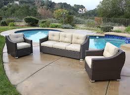 Jj Designs Amazon Com Jj Designs South Beach 3 Pc Deep Seating Set