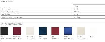 Port Authority Color Chart Port Authority Easy Care Cap C608